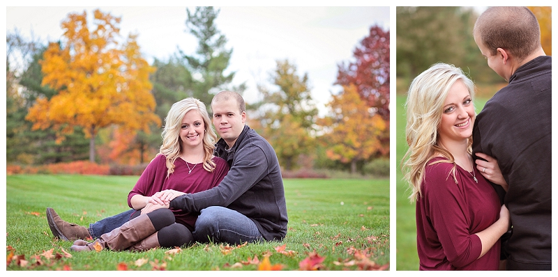Engagement photos at Headwater's Park