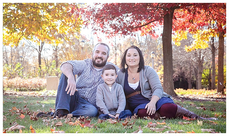 Family Photos at Headwater's Park